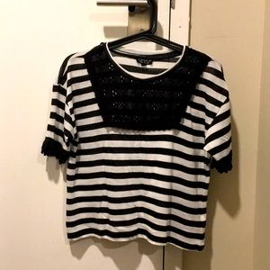 Topshop Shirt - Stripes